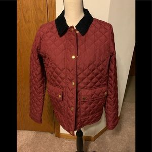 J Crew quilted fall jacket